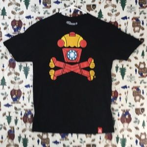 JOHNNY CUPCAKES x IRON MAN SHIRT BAKERY TOP